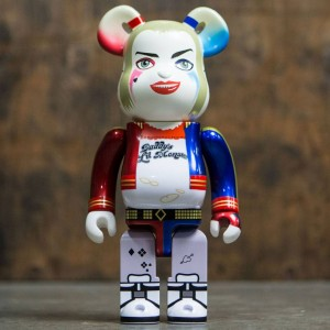 Medicom Suicide Squad Harley Quinn 400% Bearbrick Figure (white)