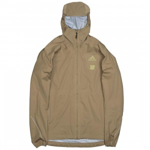 Adidas x Undefeated Men 3L GTX Jacket (khaki / tactile khaki)