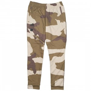 Adidas x Undefeated Men Sweat Pants (tan / dune / tactile khaki / base khaki)