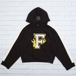 Puma x Fenty By Rihanna Women Hooded Panel Sweater (black / cotton)
