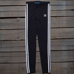 Adidas Women 3-Stripes Leggings (black)