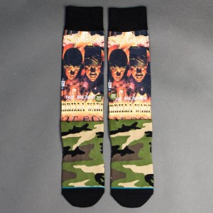 Stance x Cash Money Records Men Hot Boys Socks (olive)