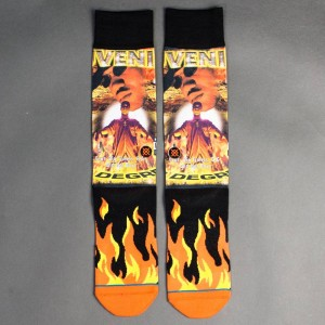 Stance x Cash Money Records Men Juvenile Socks (orange)