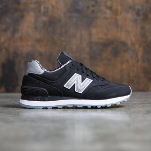 New Balance Women 574 Luxe Rep WL574SYC (black)