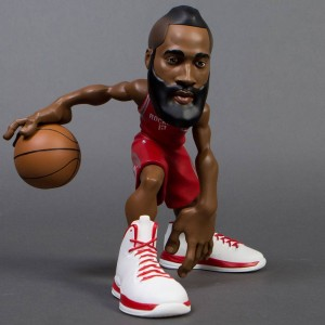 IconAI Small Stars NBA 2016-2017 James Harden 11 Inch Figure - Road Red Jersey (red)