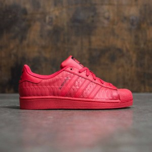 Adidas Big Kids Superstar Triple Red (red / ray red / core black)