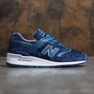 New Balance Men 997 New Balance M997CEF - Made In USA (navy / castaway)