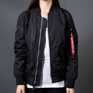 Alpha Industries Women L2B Scout Flight Jacket (black)