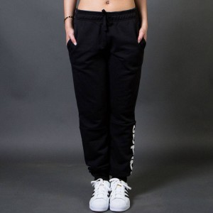 Adidas Women Essentials Linear Pants (black / white)
