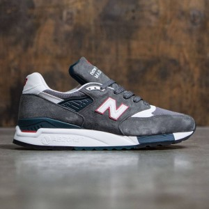 New Balance Men 998 M998CRA - Made In USA (gray / red)