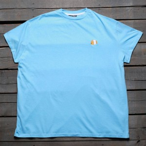 Lazy Oaf Women Lazy Oaf Guinea Tee (blue) 1S