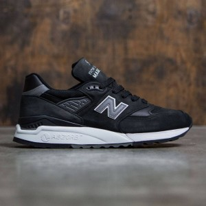 New Balance Men 998 M998DPHO - Made In USA (black / grey)