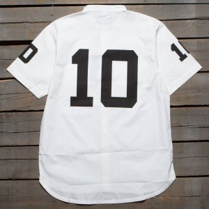 10 Deep Men Big 10 Button Up Shirt (white)