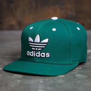 Adidas Thrasher Snapback Cap (fairway / white)