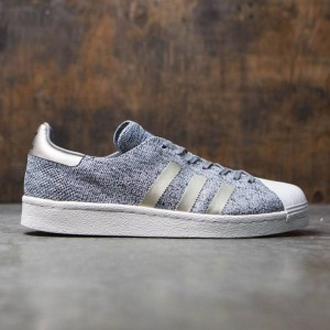 Adidas Men Superstar Boost Primeknit - Noble Metal  (gray / solid grey)