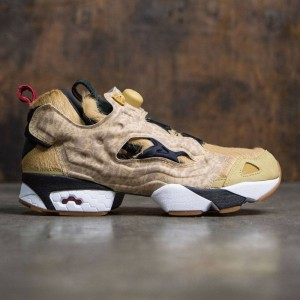 Reebok x SBTG x Limited Edt Men InstaPump Fury (tan / walnut / golden wheat)