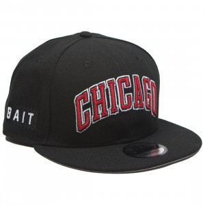 BAIT x NBA X New Era 9Fifty Chicago Bulls Alt OTC Snapback Cap (black)
