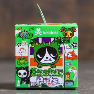 Tokidoki Cactus Pets Mini Figures - 1 Blind Box