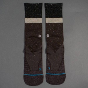Stance Premium Topstitch Men Atacama Crew Socks (brown)