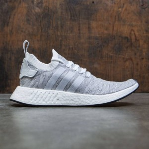 Adidas Men NMD R2 Primeknit (white / footwear white / core black)