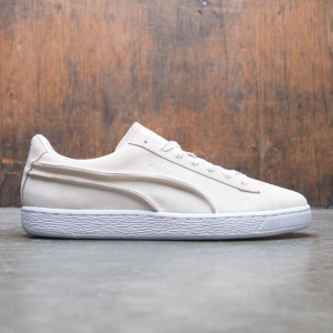 Puma Men Suede Classic - Exposed Seams (white / whisper)