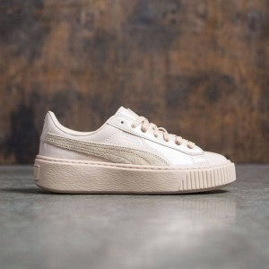 Puma Women Basket Platform - Patent Leather (pink / frappe)