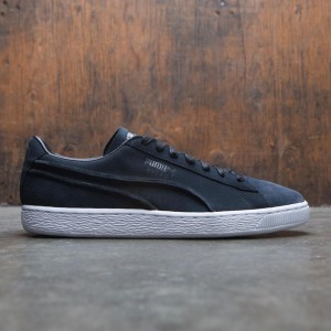 Puma Men Suede Classic - Exposed Seams (black)