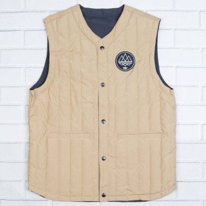 Adidas Men Kopelman Vest (navy / hemp / night navy)