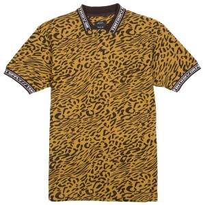 10 Deep Men Sharps Polo Tee (multi / leopard)