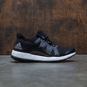 Adidas Women PureBOOST Xpose (black / core black / tech silver metallic)