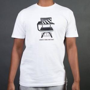 Paper Planes Men Homeroom Tee (white)