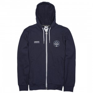 Adidas Men Finnington Hood Hoodie (navy / night navy)