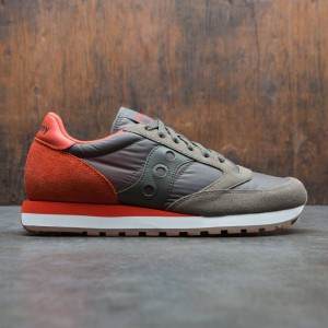 Saucony Men Jazz Original (green / olive / cherry)