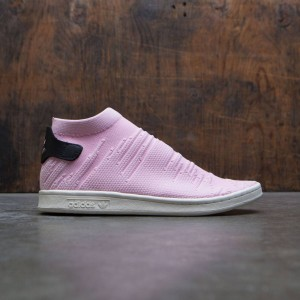 Adidas Women Stan Smith Sock Primeknit W (pink / wonder pink / core black)