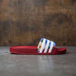 Adidas Women Adilette W (red / footwear white / power red)