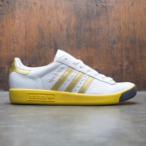 Adidas Men Forest Hills (white / gold metallic / eqt yellow)