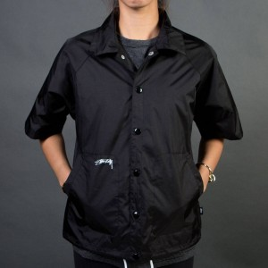 Stussy Women Nordhoff Coaches Jacket (black)