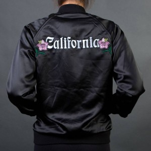 Stussy Women California Satin Jacket (black)
