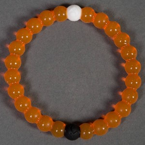 Lokai Bracelet - Limited Edition - Support Mental Health (orange)