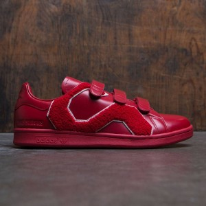 Adidas x Raf Simons Men Stan Smith Comfort Badge (red / power red)
