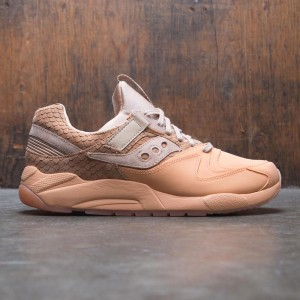 Saucony Men Grid 9000 HT (brown / tan / orange)