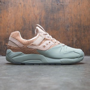 Saucony Men Grid 9000 HT (brown / tan / green)