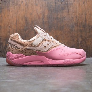 Saucony Men Grid 9000 HT (brown / tan / pink)
