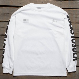 CLSC Men Six Longsleeve Tee (white)