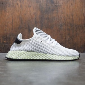 Adidas Men Deerupt Runner (white / chalk white / core black)