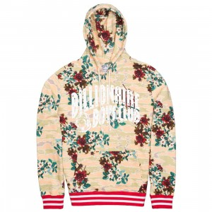 Billionaire Boys Club Men Rose Arch Hoody (white / eggnog)
