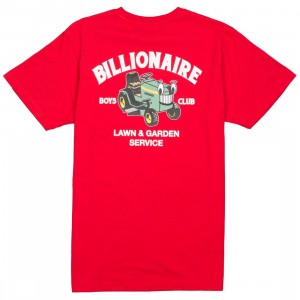 Billionaire Boys Club Men Lawn Care Tee (red)