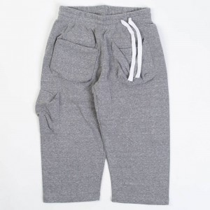 CLOT Men Kung Fu Pants (gray / heather)