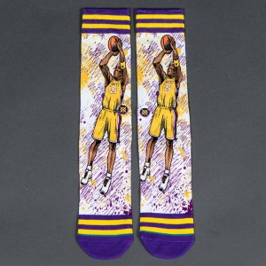 Stance x NBA Men TF Kobe Socks (purple)
