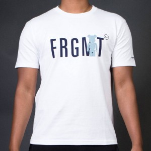 Medicom x Fragment Design Men Be@rtee FRGMT Tee (white)